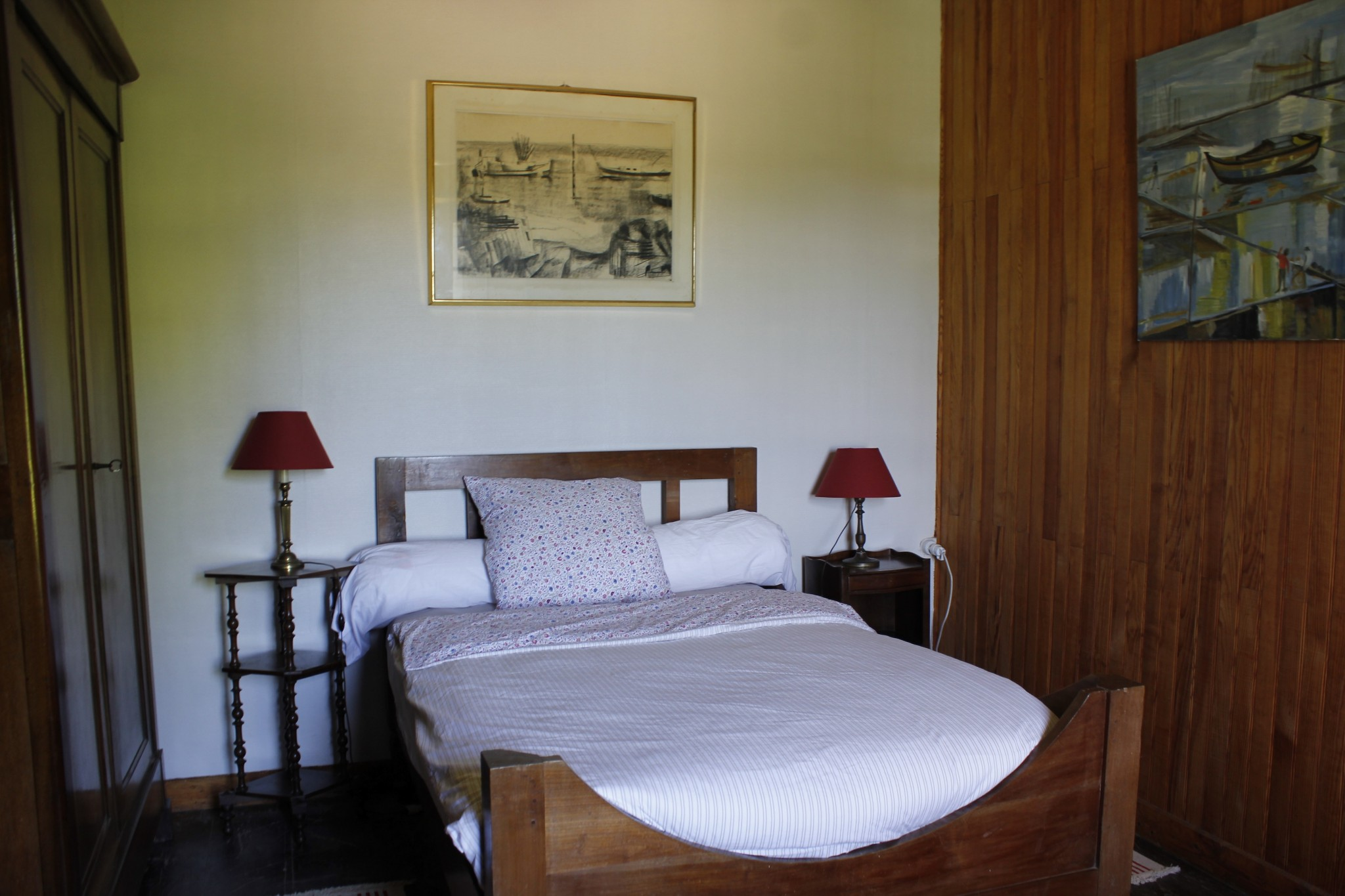 Chambres-d'hôtes-lit-double-compostelle