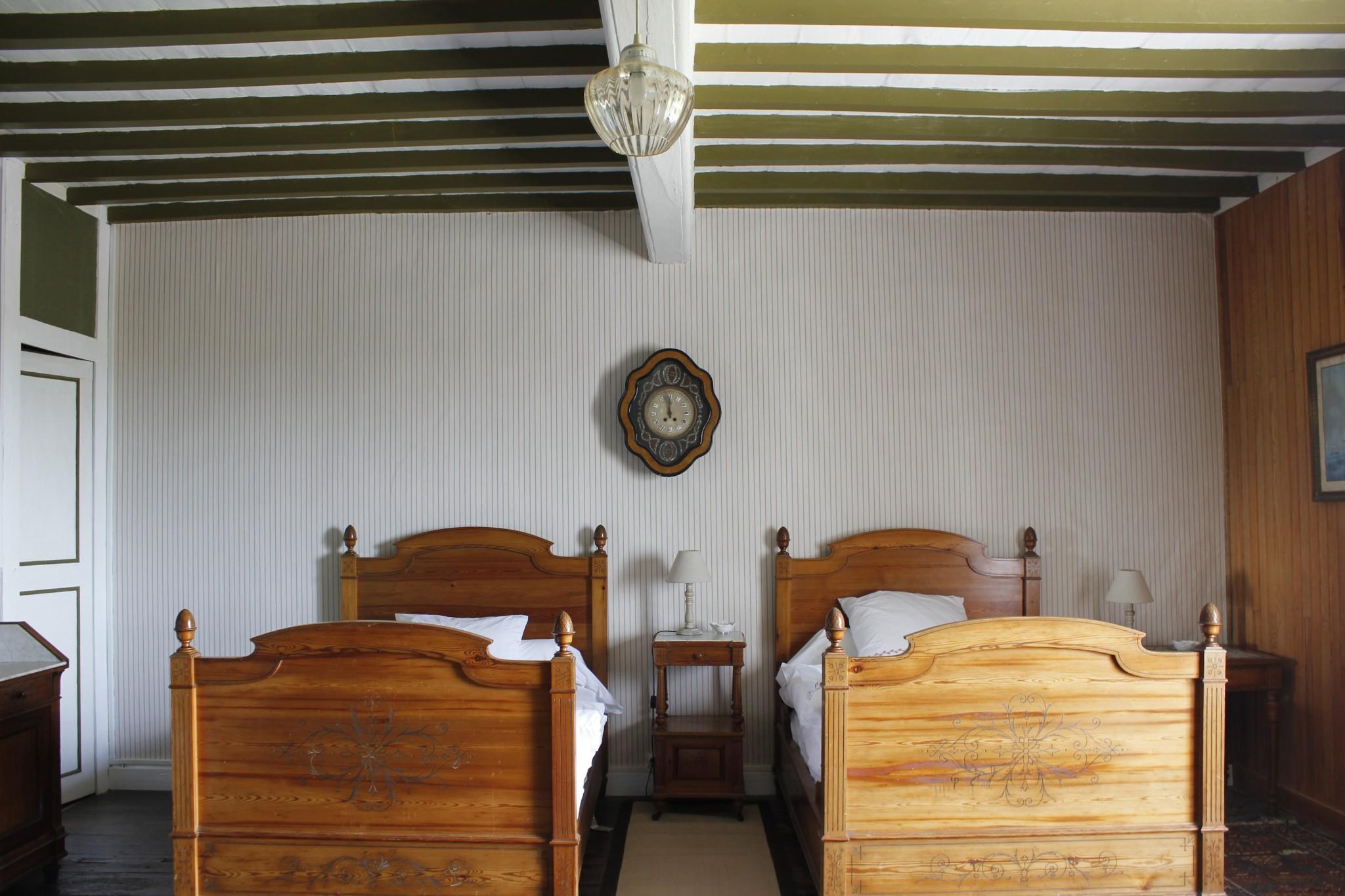 Chambres-d'hôtes-suédoise-lits-jumeaux