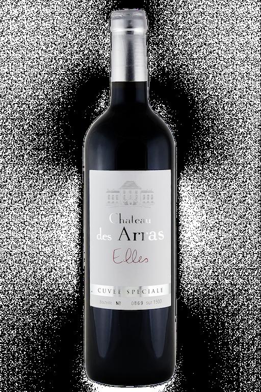 Bouteille de la cuvée Elles Bordeaux Supérieur Rouge