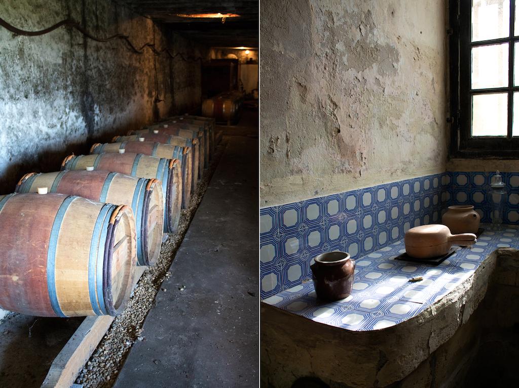 Château des Arras tradition chai barrique