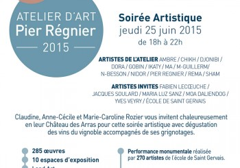 Vernissage Atelier Pier Reignier