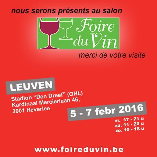 La foire du vin de Leuven