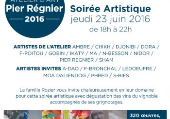 Exposition d'Art Contemporain avec l'atelier de Pier Reignier